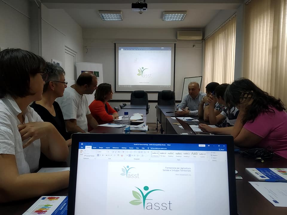 Clausura del Proyecto FASST en Macedonia
