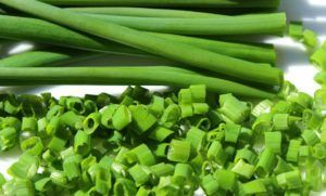 Planta aromática cebollino